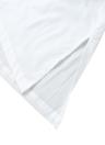 Nouveaux Femmes solides en vrac long Blouse Poches solides de couleur O-Neck manches courtes Pull Casual Elégant Robe chemise blanche