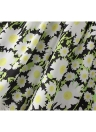 Nuevo verano de las mujeres pone en cortocircuito la impresión floral de la borla de cortocircuitos flojos de la cintura elástico de la playa ocasional de los pantalones calientes blancas