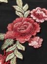 Sexy Women's Embroidery Lace V Neck Strap Backless Mini Dress