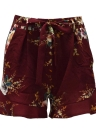 Pantalones cortos de la nueva cintura floral de las mujeres