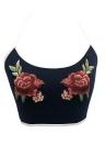 Сексуальное платье женщин Кружева Ангел Крылья платье Спагетти ремень Backless Beach Slim платье Черный