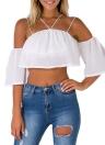 Vintage Women Maxi Summer Flower Print Plunge V-neck Fold Hem Dress