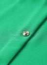 Manches à roulettes à manches courtes O Cravées à boutons Blouse décontractée pour femme respirante