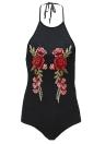 Сексуальная цветочная трикотажная блуза