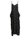 Sexy Floral Print Spaghetti Strap Bohemian Women's Plus Size Dress