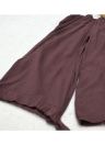 Sexy aus Schulter schnüren sich oben herausgeschnittene lange Hülsen-Bindung-Stulpe-Frauen Bluse