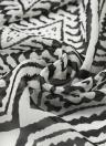 Frauen Chiffon Kimono Cardigan geometrischen Print Strand Boho Oberbekleidung