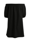 Сексуальное твердое плечо без спинки с короткими рукавами Женское повседневное платье