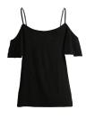 Verano De Hombro De Manga Corta De Color Sólido Mujer Casual T-shirt