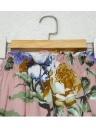Sexy Off-Shoulder Flower Print Slash Neck Casual Women's  Dress