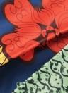 Sexy Pleate Vintage Floral Print High Waist A-Line Midi Женская юбка