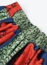 Sexy Pleate Vintage Impresión Floral Alta Cintura A-Line Falda Mujer Midi