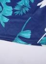 La impresión geométrica sin tirantes del verano jadea los mamelucos sin mangas de las mujeres