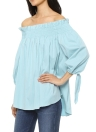 Sexy Off Shoulder Ruffle Irregular Loose Casual Women's Plus Size Blouse