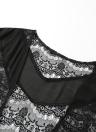 Copricapo in chiffon di estate di modo Boho di estate di estate in su Kimono delle donne