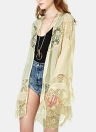 Fashion Summer Chiffon  Floral Lace Boho Loose  Cover Up Women's Kimono