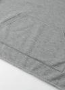 Crop Sweatshirt Contraste Casual Pocket Tracksuit Mujeres sudaderas con capucha