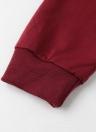 Sweat à capuche Contraste Casual Pocket Tracksuit Hoodies pour femmes