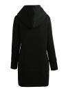 Womens Zip Up Fleece Longline Hoodies