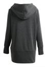 Mulheres Outono Winter Warm Coat Zipper Outerwear Hooded Sweatshirts