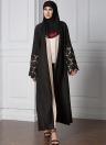 Модное мусульманское одеяние вязания крючком кружево манжеты с длинным рукавом из кардигана