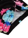 Бохо Цветочная Печать Глубокая V Шея Обрезанное Рукав Тонкое Повященное Женское Длинное Платье