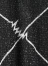 Women's Plaid Crew Neck Long Sleeve Crop Top