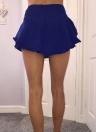 Fashion Mini Pleated Layer A-Line High Waist  Party Skirt