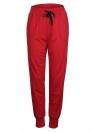 Pantalones de yoga de deporte de la mujer bolsillos de cordón de la cintura elástica pantalones de correr al aire libre