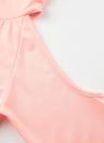 Robe décontractée à capuche et épaules dénudées Robe à manches longues et sweat à capuche