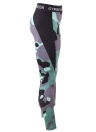 Fashion Women Camouflage Printed Leggings Slim Fitness Gym Yoga Joggers Cropped Pants Trousers