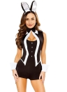Halloween Women 5 Piece  Bunny  Cosplay Uniform