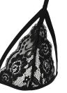 Сексуальные Женщины Sheer Кружева Strappy Бюстгальтер Кейдж Bralette выдалбливают Упругие нижнего белья женское Crop Top Black