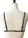 El sujetador sin tirantes floral atractivo del cordón floral Strappy de las mujeres de la ropa interior
