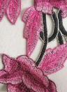 Sexy Women Lingerie  Floral Embroidery Bondage Belt Erotic Bra