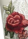 Нижнее белье кружево Топ цветочные вышивка прозрачные прозрачные чашки сексуальный бюстгальтер