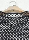 Conjunto de lencería de mujer Sexy Fishnet Sheer Briefs