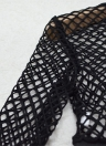 Sexy Fishnet Women's Lingerie Set Sheer Briefs