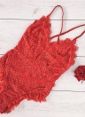 Сексуальная One Piece Sheer Lace Беспроводная стрейч-регулируемая лента для белья