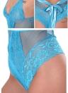 Женское бельё с вырезом из кружевной вышивки