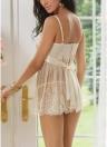 Женское нижнее белье для женщин Нижнее белье из кружевного ремня Strappy Babydoll Nightgown Sleepwear Dress G-String
