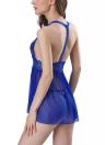 Женская кружевная сумка для нижнего белья Bodydoll с комплектом Teddy Chemise G-String