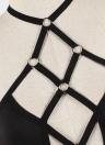 Bandage oco Out Bustier Bralette gaiola elástica Erotic Strappy Bra