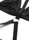 Neue Sexy Frauen Bikini Einteiler Halter drahtlose Bandage Riemchen Plunge Badeanzug Bademode Badeanzüge schwarz