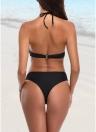 Bikini con incrocio sul davanti