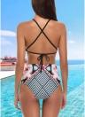 Costume da bagno donna Costumi da bagno Costumi da bagno Bikini Costumi da bagno geometrici