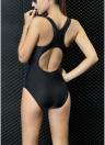 Costume da bagno intero senza schienale con incrocio push-up