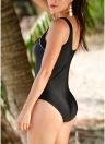 Costume da bagno intero donna Costumi da bagno da spiaggia con costumi monokini imbottiti a righe