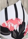 Maillot de bain une-pièce imprimé floral pour femme Monokini Maillot de bain bikini rembourré Maillot de bain