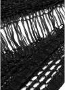 Bikini lavorato a maglia con copri-nappa Frange scollate Costume da bagno Costumi da bagno